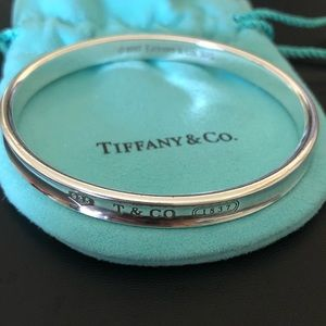 Tiffany & Co 1837 Sterling Silver 925 Bangle 1997